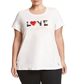 MICHAEL Michael Kors® Plus Size Love Graphic Tee