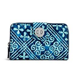 Vera Bradley® RFID Turnlock Wallet