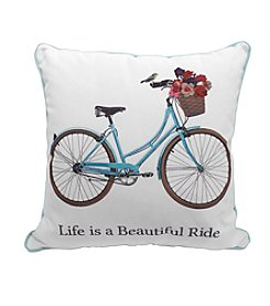 LivingQuarters Bike Pillow