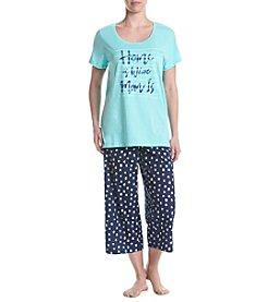 HUE® Capri Pajama Set