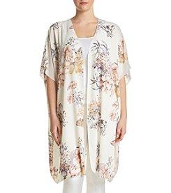 Living Doll® Plus Size Floral Kimono