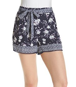 Sequin Hearts® Borded Soft Shorts