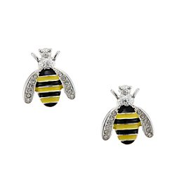 Studio Works® Post Bee Button Earrings