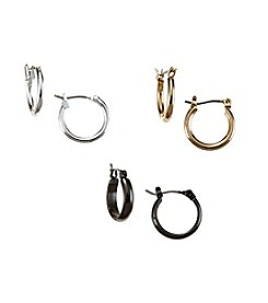 Studio Works® Hoop Trio Earrings