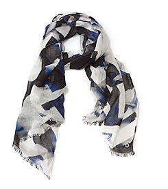 Calvin Klein Abstract Split Scarf