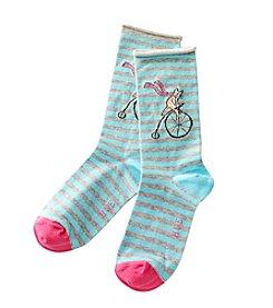 HUE® Circus Cat Socks