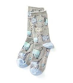 HUE® Fancy Dogs Socks