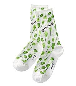 HUE® Oh Kale Yeah Socks