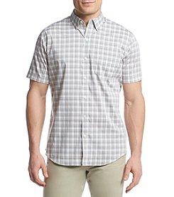 Van Heusen® Men's Flex Short Sleeve Woven Open Plaid Button Down Shirt