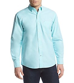 Izod® Men's Long Sleeve Saltwater Oxford Woven Shirt