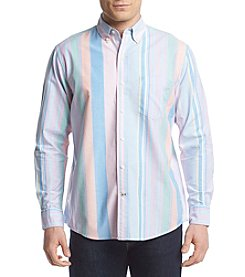 Izod® Men's Long Sleeve Oxford Woven Shirt