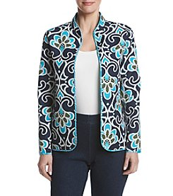 Alfred Dunner® Scroll Reversible Quilt Jacket