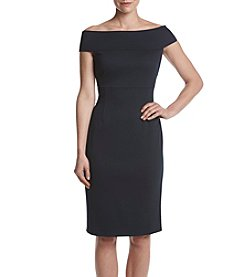 Adrianna Papell® Off-Shoulder Sheath Dress