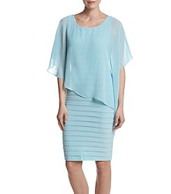 Adrianna Papell® Drape Overlay Dress