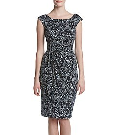 Connected® Dotted Sheath Dress