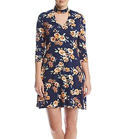 Madison Leigh® Floral Choker Dress