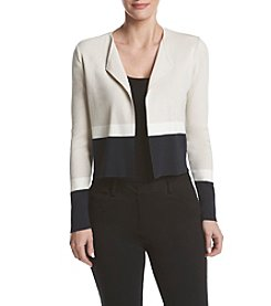 Jones New York® Open Front Short Cardigan