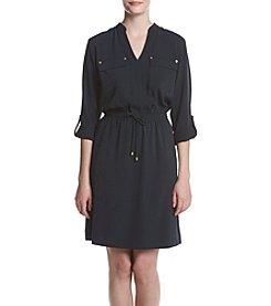 Jones New York® Rolled Sleeve Equipment Dress