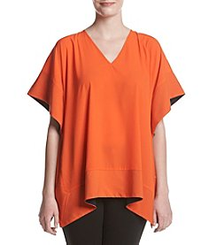 Jones New York® V-Neck Square Top