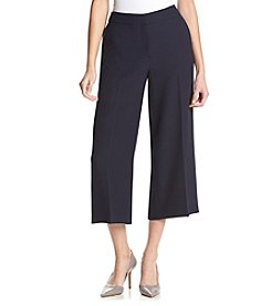 Jones New York® Palazzo Crop Herringbone Pants