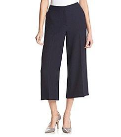 Jones New York® Palazzo Crop Herringbone Pants