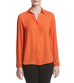 Jones New York® Pleated Top