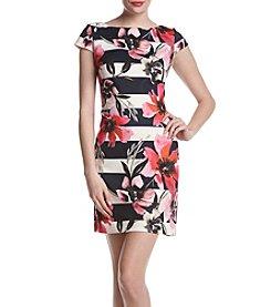 Vince Camuto® Floral Garden Scuba Dress
