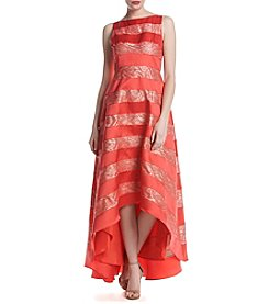 Adrianna Papell® Lace And Mikado High-Low Dress