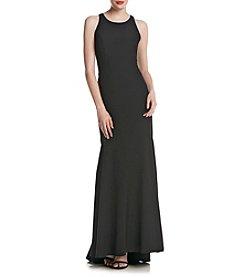 Nicole Miller New York™ Ruffled Back Cascade Dress
