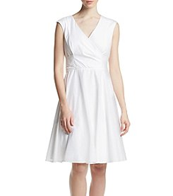 Calvin Klein Wrap Shirt Dress