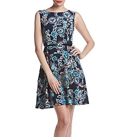 Tommy Hilfiger® Multi Floral Swing Dress