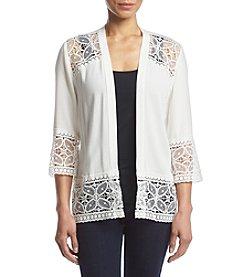 Studio Works® Petites' Lace Trim Jacket