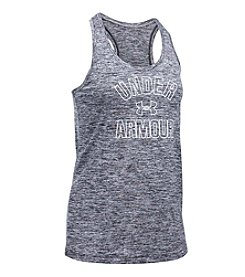 Under Armour® Wordmark Twist Tank