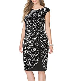 Chaps® Plus Size Haywood Sheath Dress