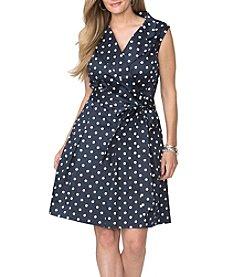 Chaps® Plus Size Wrap Dress