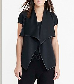 Lauren Active® Neoprene Open-Front Vest