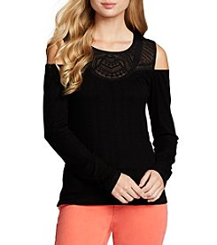 Jessica Simpson Cold-Shoulder Knit Top