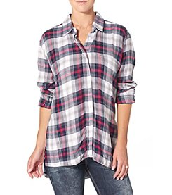 Silver Jeans Co.® Plaid Utility Shirt