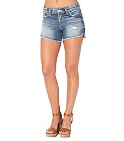 Silver Jeans Co. Berkley Fray Hem Shorts