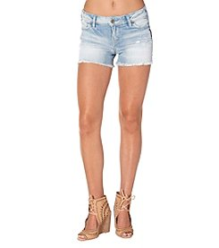 Silver Jeans Co. Aiko Fray Hem Shorts