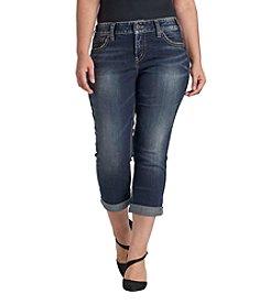 Silver Jeans Co. Plus Size Capri Jeans