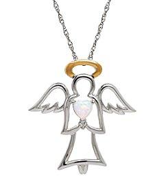 Angel Diamond Necklace