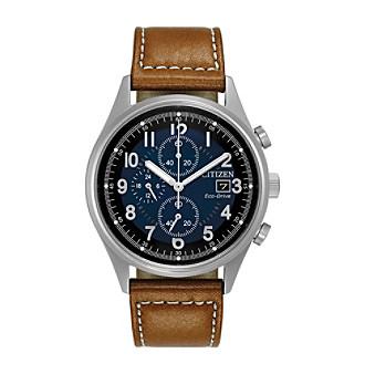 Citizen® Men's Eco-Drive Stainless Steel Chandler Watch