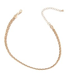Robert Rose Braided Metal Choker