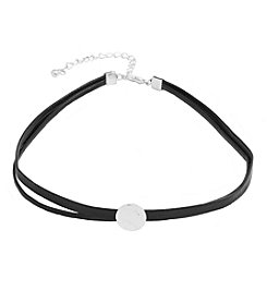 Robert Rose Two Row Coin Slider Choker