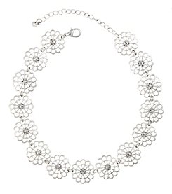Robert Rose Flower Cast Choker