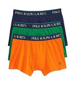 Polo Ralph Lauren® Men's 3-Pack Stretch Cotton Boxer Briefs