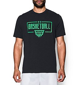 Under Armour® Men's Basketball Wordmark Short Sleeve Tee