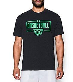 Under Armour® Men's Basketball Wordmark Short Sleeve Tee