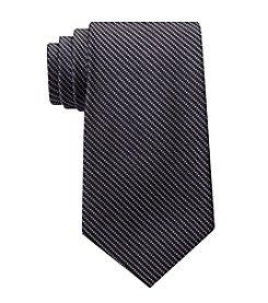 Calvin Klein Men's Glimmer Pinstripe Tie